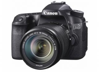 Компания Canon анонсировала фотоаппарат среднего уровня EOS 70D